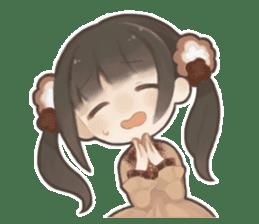 Forest girls sticker #7486116
