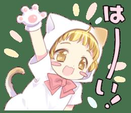 Boy of a cat ear 2 sticker #7488672