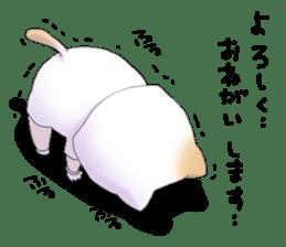 Boy of a cat ear 2 sticker #7488684