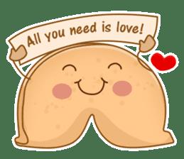 Fortune Cookie Fun Sticker Set sticker #7494597