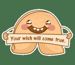 Fortune Cookie Fun Sticker Set sticker #7494598