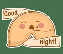 Fortune Cookie Fun Sticker Set sticker #7494614