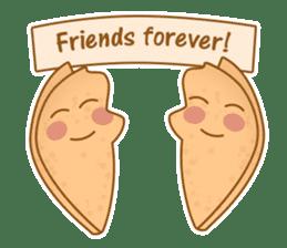 Fortune Cookie Fun Sticker Set sticker #7494617