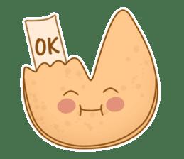 Fortune Cookie Fun Sticker Set sticker #7494628