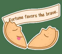 Fortune Cookie Fun Sticker Set sticker #7494630