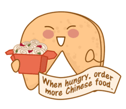Fortune Cookie Fun Sticker Set sticker #7494633