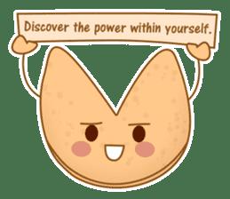 Fortune Cookie Fun Sticker Set sticker #7494634