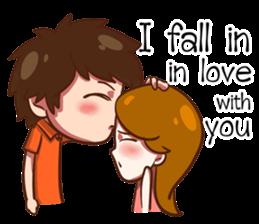 Love can't compare (EN) sticker #7496961