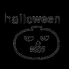 happy halloween Stickers.