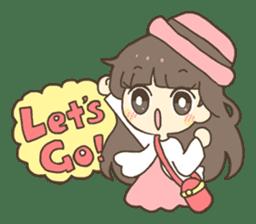 Nao Osato sticker #7501000