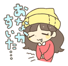 Nao Osato sticker #7501007