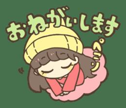 Nao Osato sticker #7501018