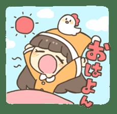 Nao Osato sticker #7501025