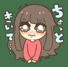 Nao Osato sticker #7501031