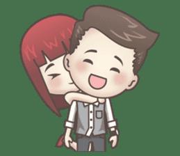 Peter & Scarlet sticker #7511631