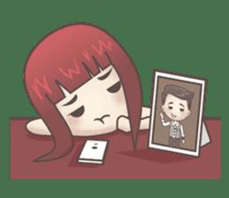 Peter & Scarlet sticker #7511640
