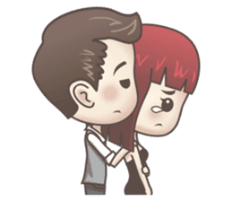 Peter & Scarlet sticker #7511642