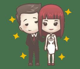 Peter & Scarlet sticker #7511665