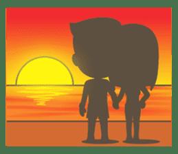 Peter & Scarlet sticker #7511667