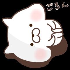 sharp-tongued cat
