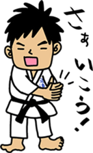 NANIWA-high school KARATE-BU sticker #7517090