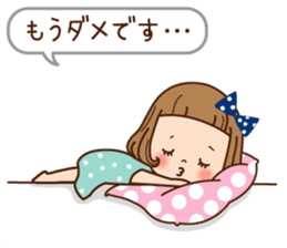 Of the girl is an honorific softly. sticker #7517776