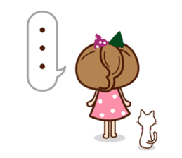 Of the girl is an honorific softly. sticker #7517779