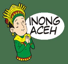 I love Aceh sticker #7521470