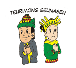 I love Aceh sticker #7521473