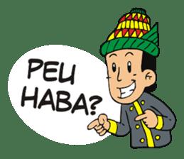 I love Aceh sticker #7521476