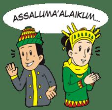 I love Aceh sticker #7521477