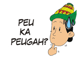 I love Aceh sticker #7521479