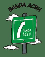 I love Aceh sticker #7521480