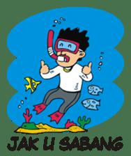 I love Aceh sticker #7521484