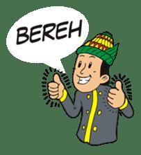 I love Aceh sticker #7521490