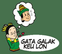 I love Aceh sticker #7521499