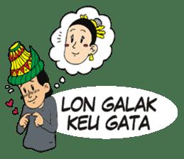I love Aceh sticker #7521500