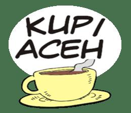 I love Aceh sticker #7521504