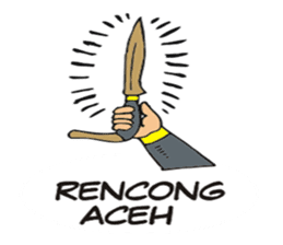 I love Aceh sticker #7521505