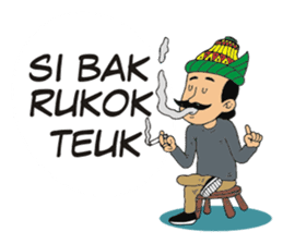 I love Aceh sticker #7521507