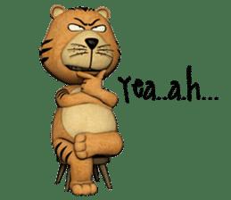 TigTig (Text version) sticker #7521795