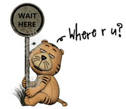 TigTig (Text version) sticker #7521796