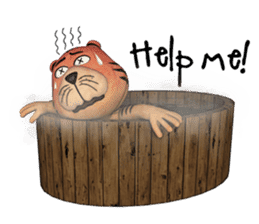 TigTig (Text version) sticker #7521819