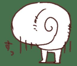 Snail-chan sticker #7531040