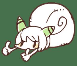 Snail-chan sticker #7531043