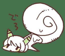 Snail-chan sticker #7531048