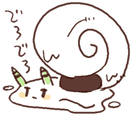 Snail-chan sticker #7531049