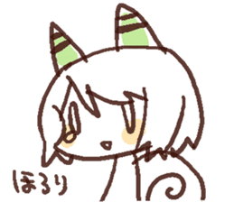 Snail-chan sticker #7531052
