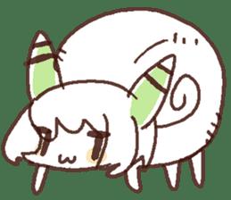 Snail-chan sticker #7531060