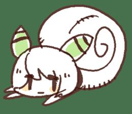 Snail-chan sticker #7531063